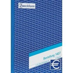 Bestellscheinbuch A5 Zweckform 1407 3fach Blaup. 3x50Blatt