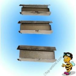 Verschlusshülsen Metall 13x25mm für Umreifungsband bis 13mm (2000 Stück)