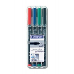 Projektionsschreiber Lumocolor 318 permanent F / 4er-Etui