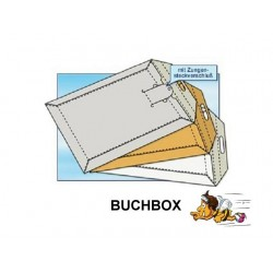 BUCHBOX VERSANDTASCHEN F. DIN A4 (leichte Ausführung)BB4Z 100St