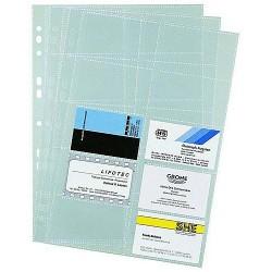 Visitenkartenhüllen Durable HUJ2389 f. Album VISIFIX (1 Pckg.)