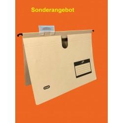 Hängemappe Elba TOUAREG Karton (TCF) mit Sichtreiter A4 beige SONDERANGEBOT