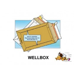 WELLBOX VERSANDTASCHEN F. DIN A5 (schwere Ausführ.) WEBO1 100St