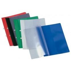 Schnellhefter A4 PVC-Folie A4 blau Veloflex mit Abheftvorrichtung 1St.