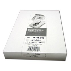 Laminierfolien Folientasche DIN A5 125my 154x216mm VE=100St