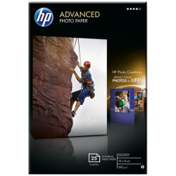 Fotopapier Inkjet-Papier HP Q1991A 10x15cm glossy 240g 20 Blatt