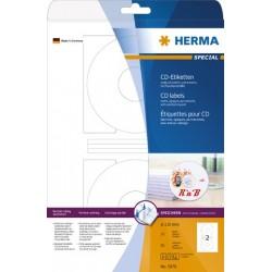 CD-Etiketten DVD-Etiketten Ø 116mm Loch-Ø 41mm Herma 5079 weiß 1 Pckg. á 50 Stück