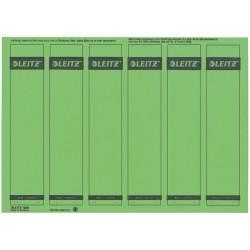 Rückenschilder Leitz 1686 PC-Beschriftung A4 schmal grün 150Stck.
