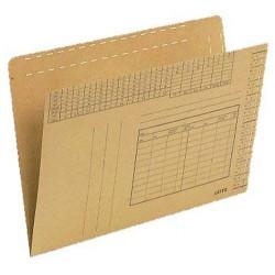 Einstellmappe Leitz 2430 Karton 250g/m² mit Org.-Druck 100St.