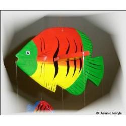 Windspiel Mobile Korallenfische Länge ca. 50cm POSTEN farbig sortiert (10 Stück)
