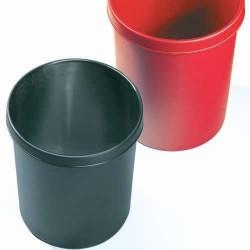 Papierkorb Polystyrol rund 45 Liter schwarz 61062 (1 Stück)