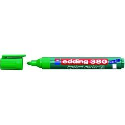 Flipchartmarker Edding 380, 1,5 - 3 mm nachfüllbar grün / 1 St.