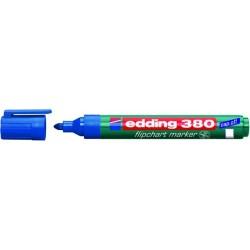 Flipchartmarker Edding 380, 1,5 - 3 mm nachfüllbar blau / 1 St.