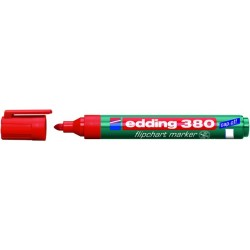 Flipchartmarker Edding 380, 1,5 - 3 mm nachfüllbar rot / 1 St.