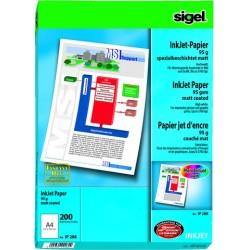 Fotopapier Inkjet-Papier Sigel IP288 A4 95g/m² / 1 Pckg. á 200 Bl