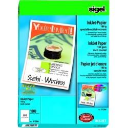 Fotopapier Inkjet-Papier Sigel IP286 matt A4 160g 1440dpi 100 Blatt