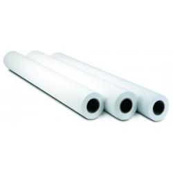 Plotterpapier 610 mm x 45m 90g/m² Clairefontaine weiß opak Inkjet Packung á 6 Rollen