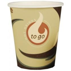 "Trinkbecher 0,2l Hartpappe ""Coffee-to-go"" (50 Stück)"