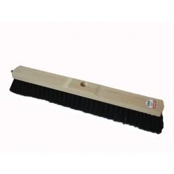 Besen 50cm weich mit Rosshaarborsten Holz für Innenbereich