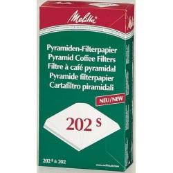 Filtertüten Melitta 202S Pyramidenfilter Packung = 100 Stück