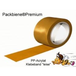 Klebeband Packbiene®Premium braun leise 50mmx66m (36 Rollen = 1 Karton)