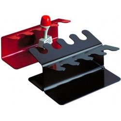 Stempelträger für 12 Stempel MAUL Metall 2seitig gerade schwarz