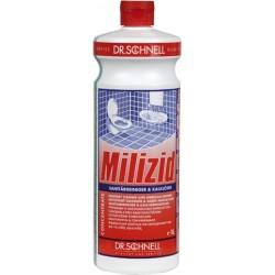 Sanitärreiniger + Kalklöser Dr. Schnell Milizid flüssig 1 Liter Flasche