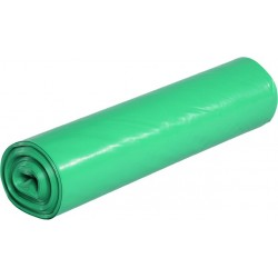 Müllbeutel 700x1100mm LDPE grün 120l (Rolle á 25 St.)