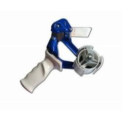 Handabroller Metall f. Packband 25 - 50mm x 66m blau