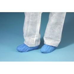 Schuhüberzieher Einweg CPE ohne Sohle Größe universal blau 100St.