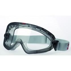 Schutzbrille 3M Premium seitl. geschlossen mit Gummizug