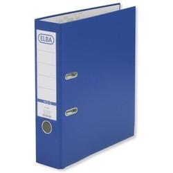 Ordner Elba A4 Kunststoff Einsteckrückenschild 8cm breit blau