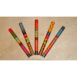Stabkerze Kapula Multicolored Ethnic 2 x 23 (1 Stück)