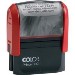 Stempel Colop Printer Textstempel 5-zeilig incl. Gutschein