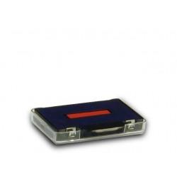 Ersatzstempelkissen für Trodat Stempel 5430 6/50 blau / rot 2 St.