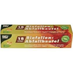 Kompostbeutel Biofolie 18 l 460 x 520 mm weiß (Pckg. á 6 St.)