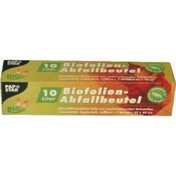 Kompostbeutel Biofolie 10l 420x440mm weiß (Pckg. á 7 St.)