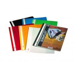Sichthefter Durable DURAPLUS® A4 Weiß (10 Stück)