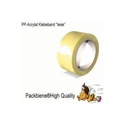 Klebeband Packbiene®HighQuality Transparent 50mmx66m (18 Rollen)