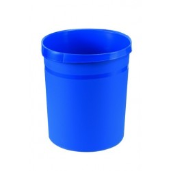 Papierkorb Kunststoff rund 18 Liter blau (1 Stück)