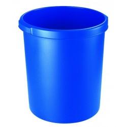 Papierkorb PP HAN rund 30 Liter blau (1 Stück)