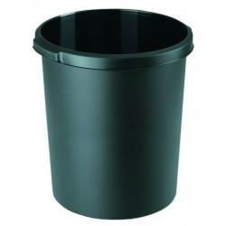 Papierkorb PP HAN rund 30 Liter schwarz (1 Stück)