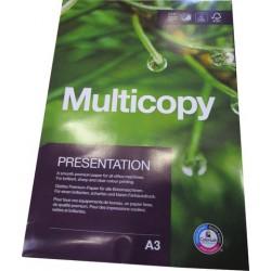 Kopierpapier Multifunktionspapier MultiCopy A3 120g/m² weiß 400 Blatt