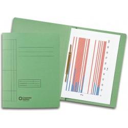Schnellhefter A4 Karton 250 g/m² grün  (10 Stück)