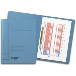 Schnellhefter A4 Karton 250 g/m² blau  (10 Stück)