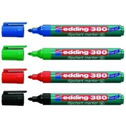 Flipchartmarker Edding 380  1,5 - 3 mm nachfüllbar 4er Etui