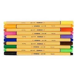 Tintenschreiber Stabilo Point 88 0,4mm gelb (1 Stück)