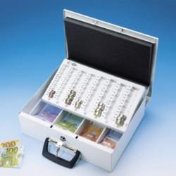 Geldkassette Universa Euro 355 x 275 x 100 mm lichtgrau (1 Stück)