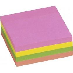 Haftnotizen mehrfarbig 76x76mm farbig sortiert 400 Blatt /1 Block