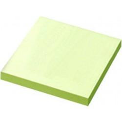 Haftnotizblock 76x76mm gelb 100 Blatt / 12 Stück